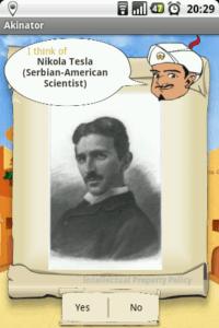Akinator Tesla