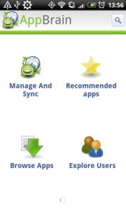 AppBrain StartScreen