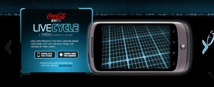 tron legacy android