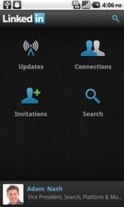 LinkedIn Android aplikacija