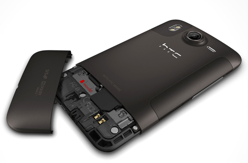 HTC Desire HD back side