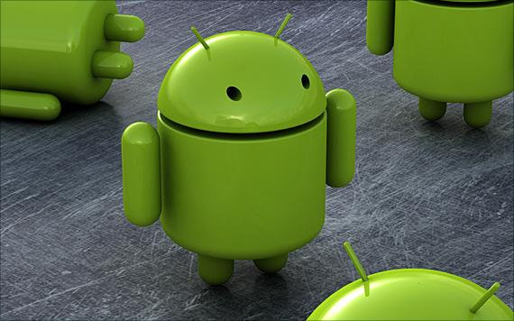 android 3d logo