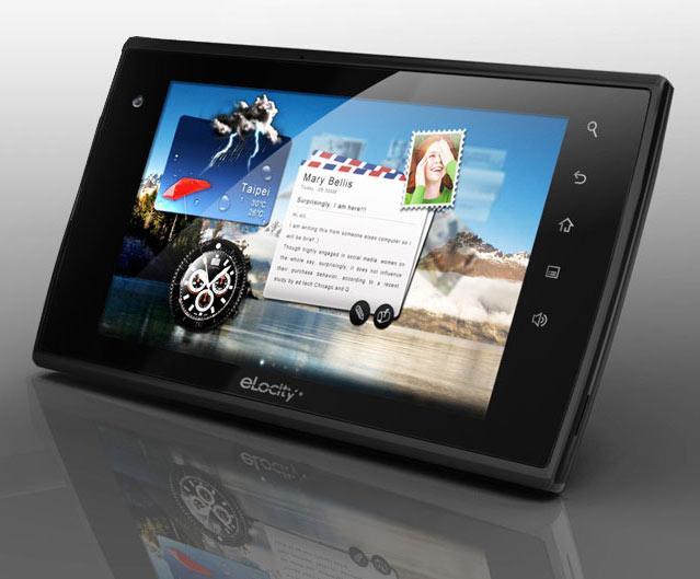 elocity dual core tablet
