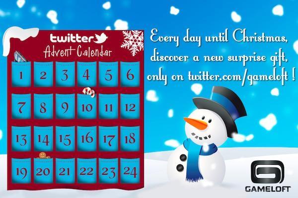 Gameloft Advent kalendar
