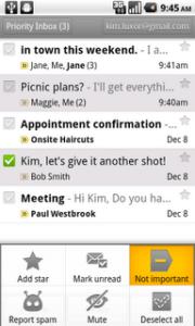 gmail priority