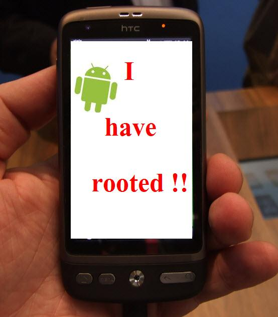 htc desire rooted