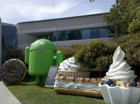 Android HQ skulpture