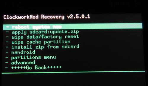 clockworkmod recovery
