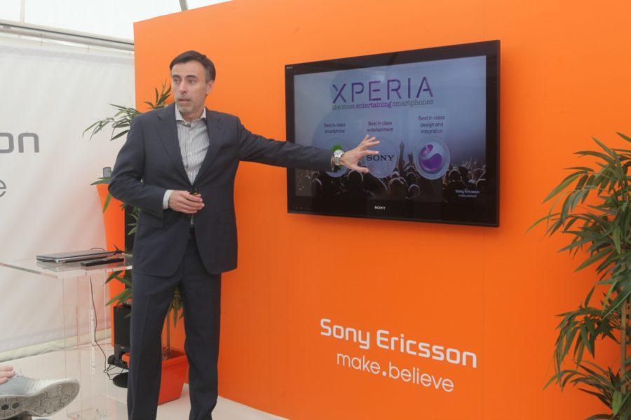 Zelimir Jurcic, direktor predstavnistva Sony Ericsson za Srbiju