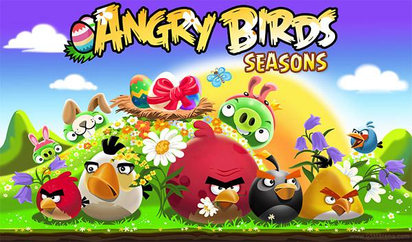 Angry Birds uskrs