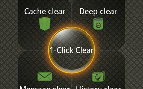 Unrooted 1-Click Cleaner for Android
