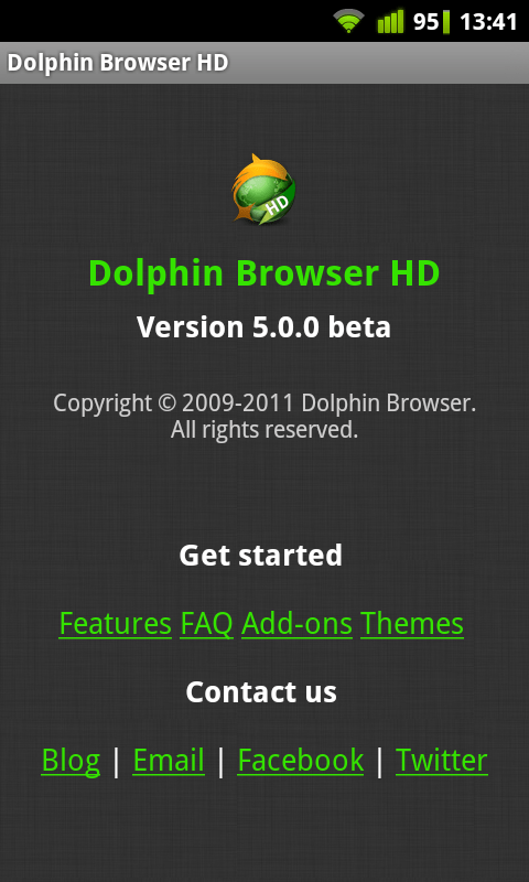 Dolphin HD 5 beta