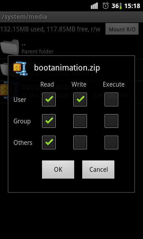 bootanimationPermissions