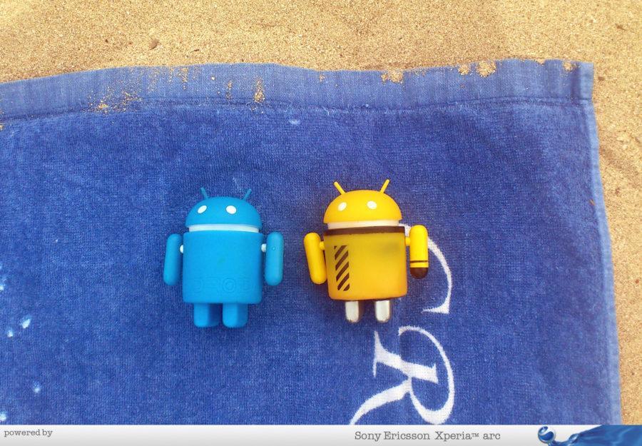 Androidi se sunčaju