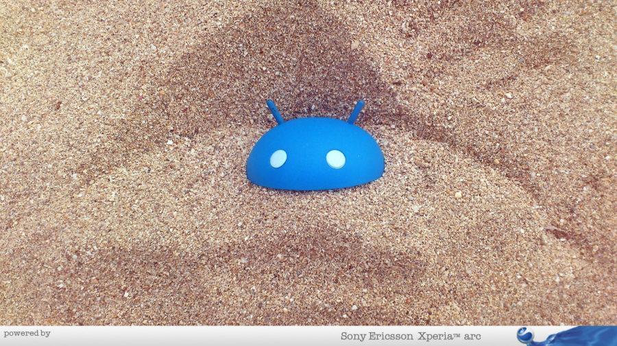 Android u pesku