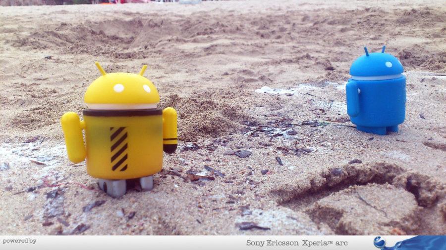 Androidi i plaža