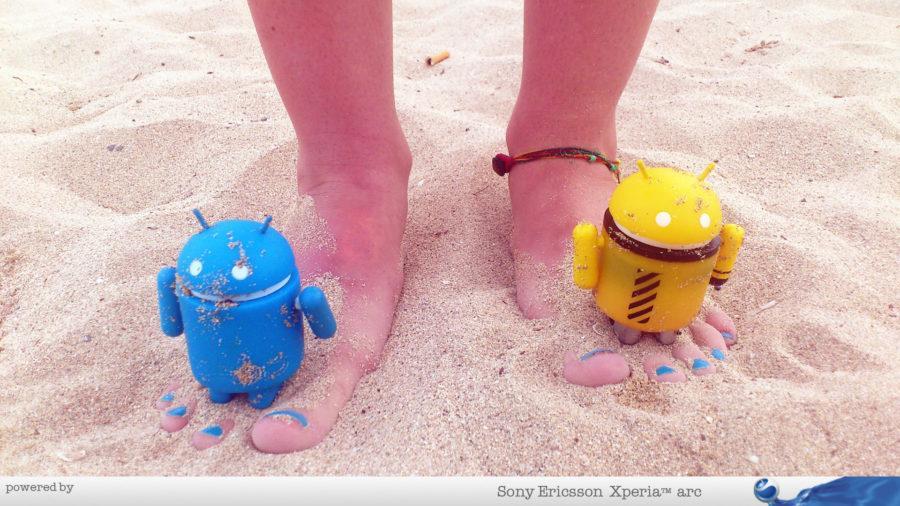 Androidi zamajavaju turiste na plaži