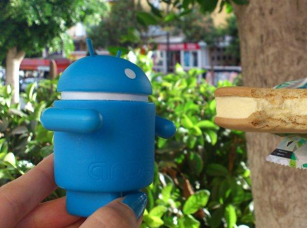 Android jede ice cream sandwich