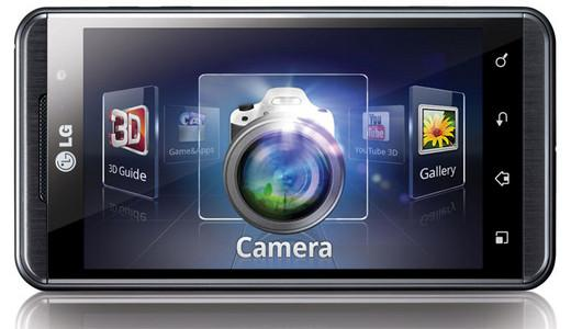 LG Optimus 3D aplikacije