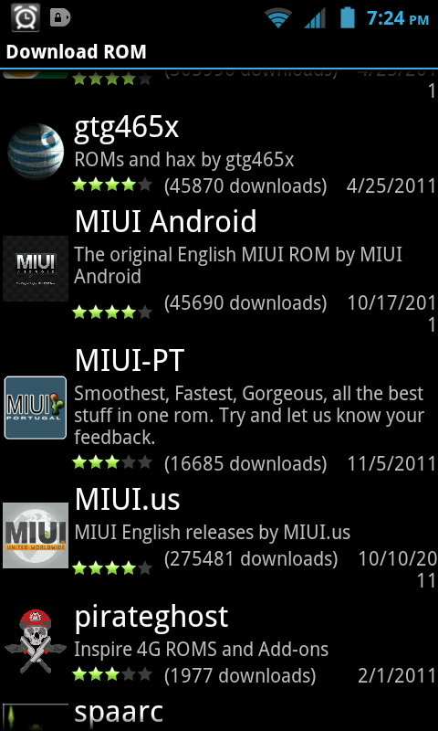 ROM Manager Download MIUI