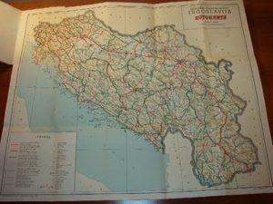 autokarta Jugoslavija