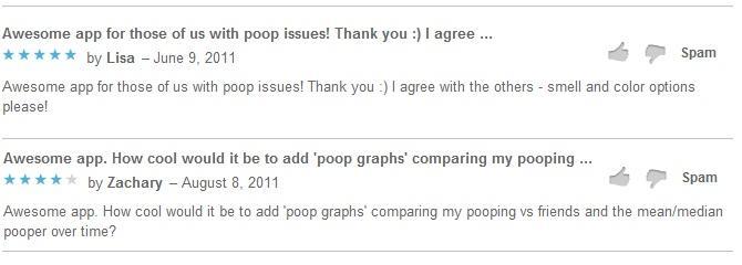 Poop Log komentari