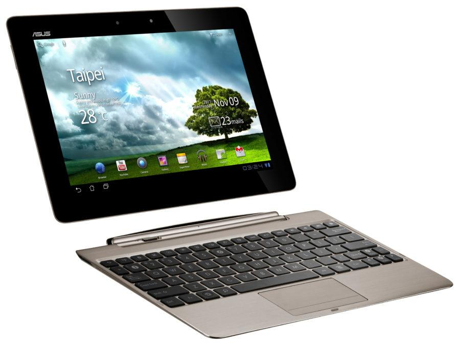 ASUS Transformer Prime with dock Champagne Gold