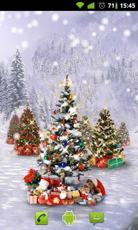 Cristmas Snow Live Wallpaper