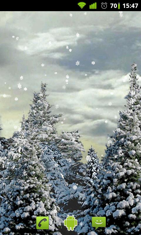 Snow Live Wallpaper 2