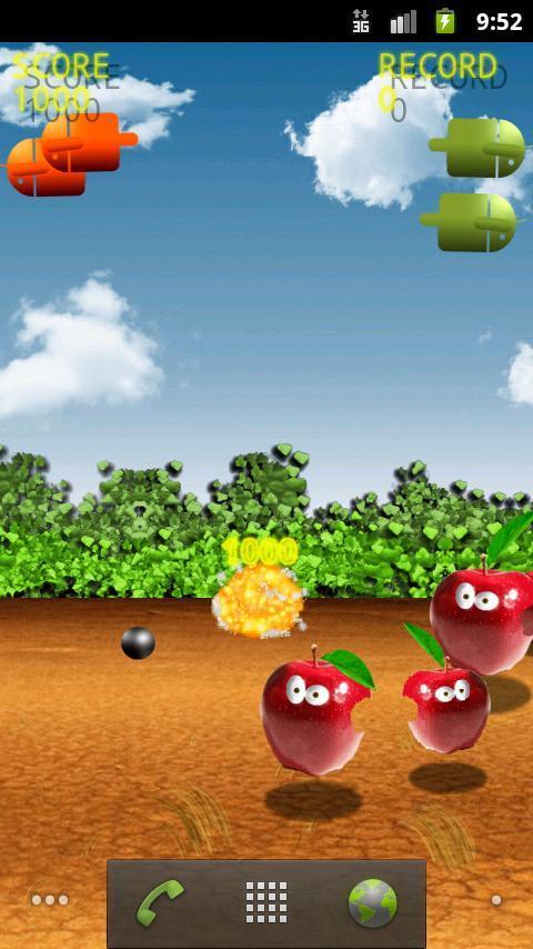Bombs on Apples screenshot