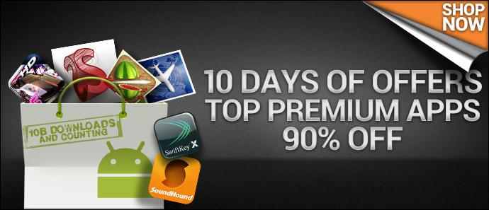 Android Market 10 days offer