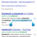 Selekcija u Browser-u