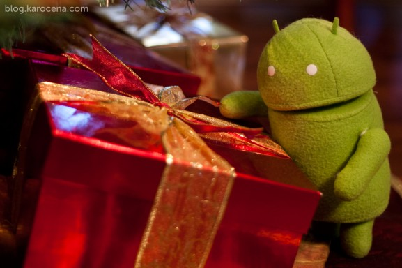 Android Present Christmas