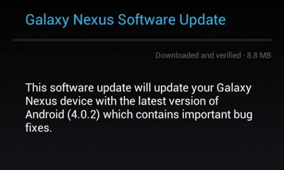 Galaxy Nexus 4.0.2
