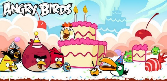 angry birds bday