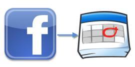 facebook to google calendar