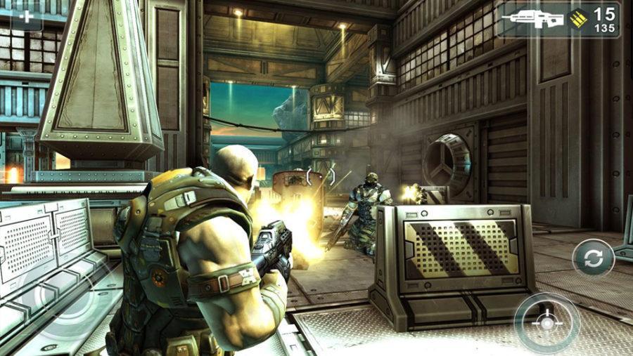 Shadowgun THD screenshot