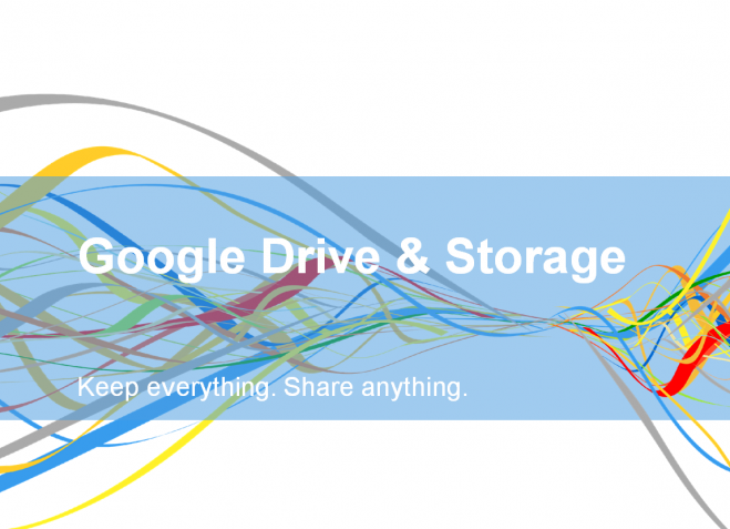 Google Drive and Storage