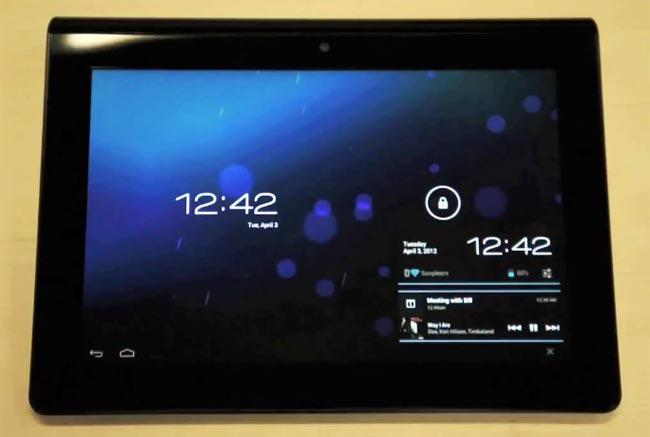 Sony Tablet S ICS