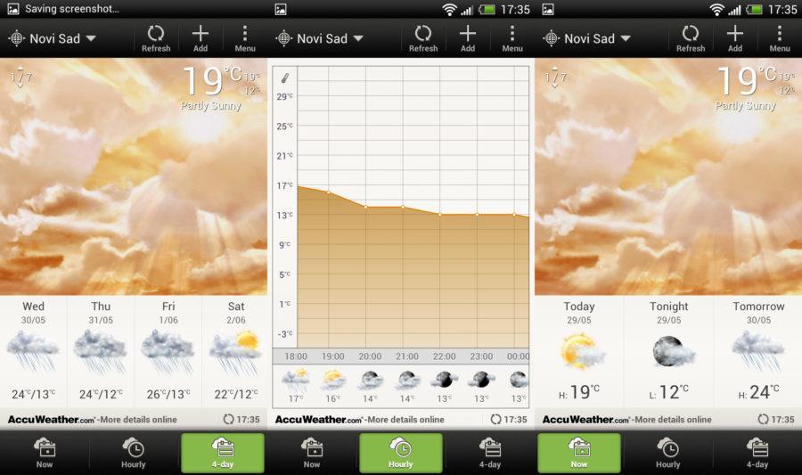 Sense 4 Weather