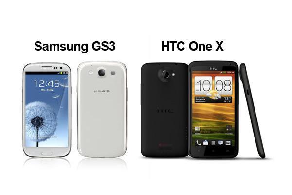 htc one x vs sgs3