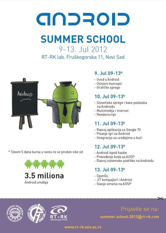Android summer school