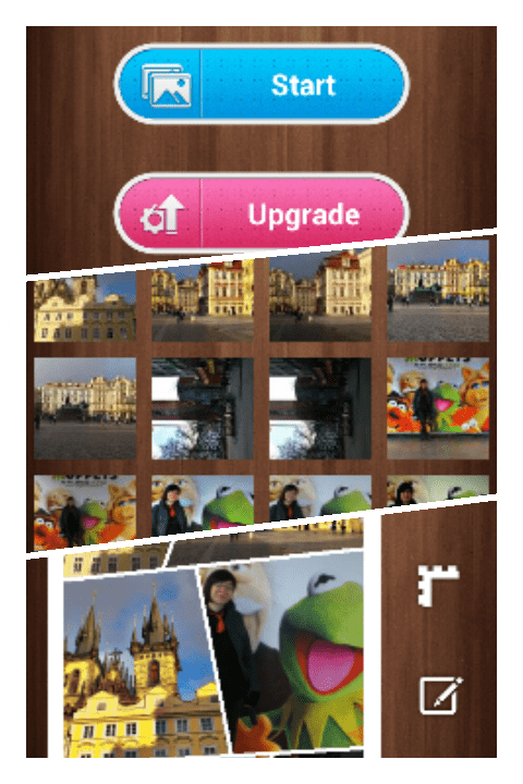 photos collage screenshosts