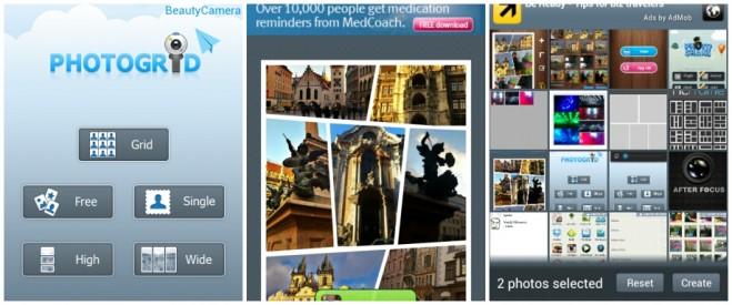 PhotoGrid screenshots