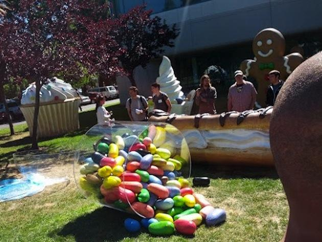 Jelly Beans statua