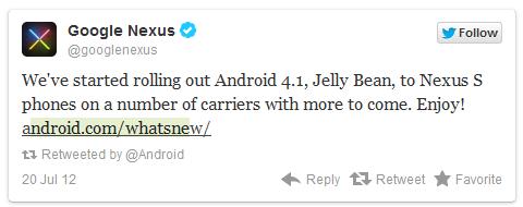 Nexus S JB