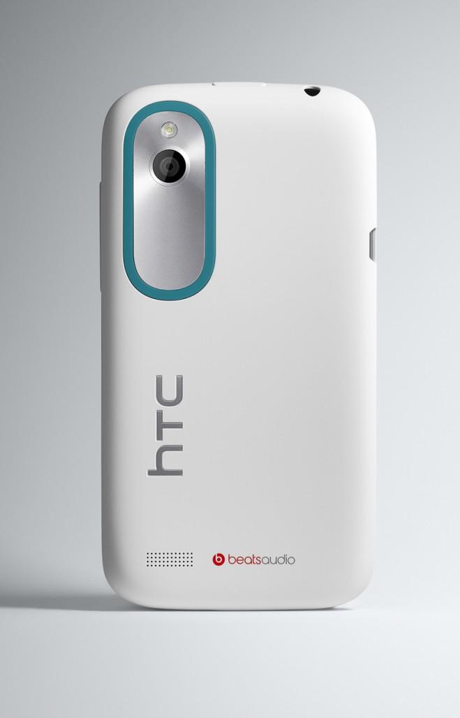 HTC Desire X zadnja strana beli