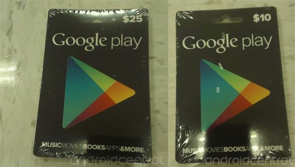 Google poklon kartice