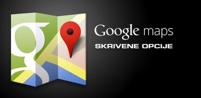Google Maps Skrivene Opcije