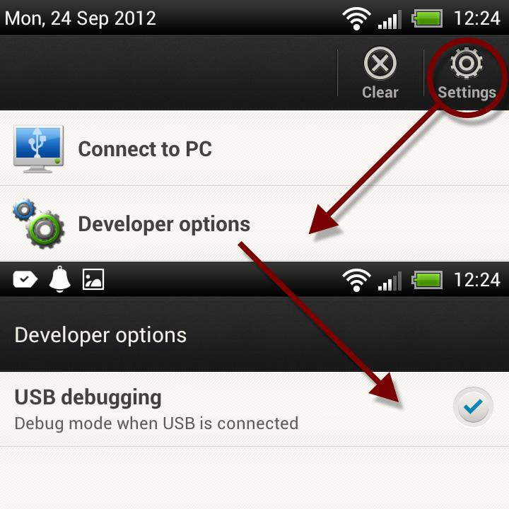 HOX USB Debugging